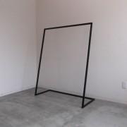 焼付塗装艶消し黒仕上げ