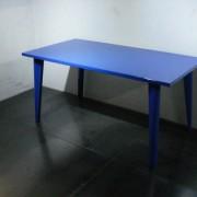 焼付塗装ブルー仕上げ